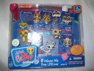 Hasbro Littlest Pet Shop LPSO Bunny Cat Penguin Dog