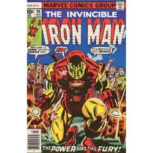 Iron Man (1st Series) #96: Bill Mantlo, George Tuska: Books