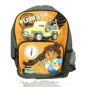 Diego the Animal Rescue Large Backpack: Toys & Games