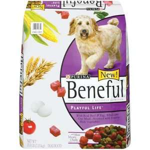 Beneful Playful Life w/Moist Meaty Chunks Dog Food, 15.5 Lb Dogs