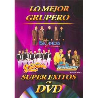 Super Exitos En DVD Los Mejor Grupero (Music DVD