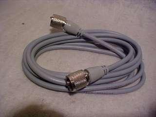 Redman Cb Ham radio RG8x Coax Cable Jumper 18 ft Gray