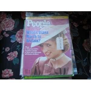 People Weekly (PRINCESS DI , Diana , Charles & Di