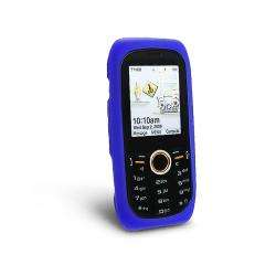 Eforcity Dark Blue Silicone Skin Case for Samsung Intensity U450