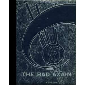 ) 1957 Yearbook: Bad Axe High School, Bad Axe, Michigan: Bad Axe