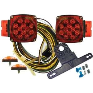 Submersible/Marine Deluxe Boat Trailer Light Kit for Over 80 Trailers