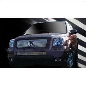 SES Trims Chrome Billet Upper Grille 06 08 Honda Pilot Automotive