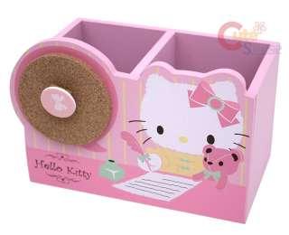 Sanrio Hello Kitty Wood Pencil Holder / Organizer Box
