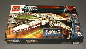 Star Wars LEGO Set 9493 X Wing Starfighter w 4 Minifigures Jek Porkins