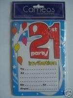 21st Birthday   2 SHOT GLASSES (Shimmer/Pink/Party)