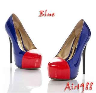 Stylish Womens Platform High Heels Shoes Pump Stiletto