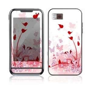 Samsung Eternity Skin   Pink Butterfly Fantasy