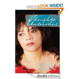 Thoughts Unleashed Table Top Book of Poetry Pryncess Walton
