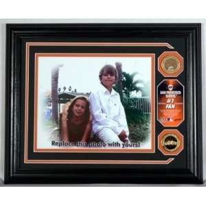 San Francisco Giants  # 1 Fan Personalized Photo Mint with a Gold