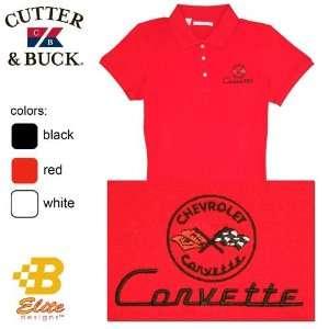 B Elite Designs BDC1EPL826 BLK L C1 Corvette Embroidered