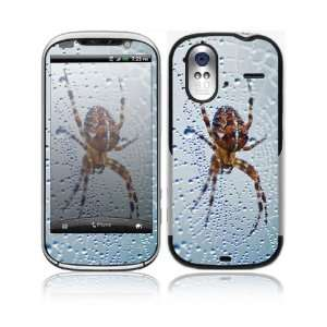 Dewy Spider Decorative Skin Cover Decal Sticker for HTC Amaze 4G Cell