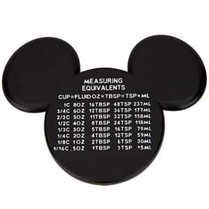 Disney Mickey Mouse Ears Measuring Chart Magnet New