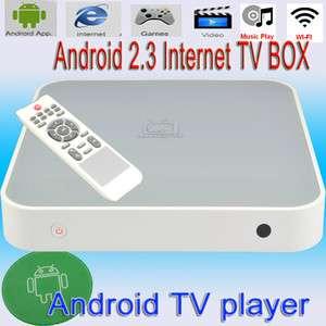 New Full HD 1080P HDMI Google Android 2.3 WIFI MKV Media Player