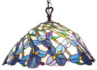 With its delicate charm and grace, this lovely hanging stained glass