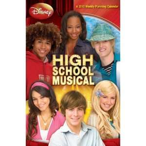 HIGH SCHOOL MUSICAL 2010 Weekly Planner (9781600698323
