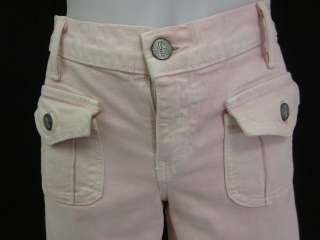 BLUE CULT Light Pink Boot Cut Denim Jeans Pants Sz 29