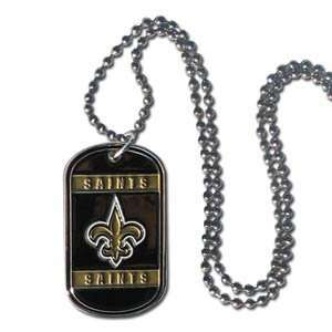 New Orleans Saints Dog Tag   Neck Tag