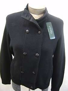 CARDIGAN KNIT SWEATER JACKET COAT SUIT CABLE BUTTON WOMENS XL