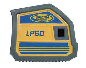 Spectra LP50 5 Beam Point Construction Laser Level