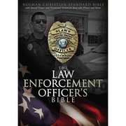Law Enforcement Officers… Holy Bible Holman Christian Standard Law