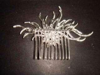 Bridal Vintage style Rhinestone Flower crystal Headpiece hair tiara