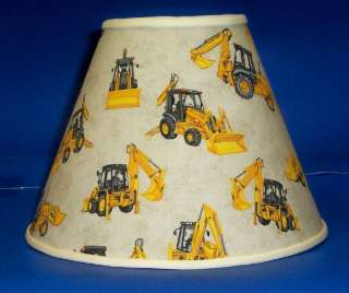 Construction Equipment Lamp Shade Lampshade Tan 428b1