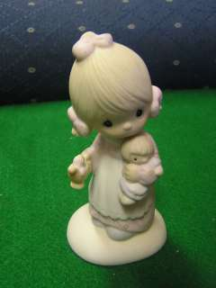 PRECIOUS MOMENTS Figure 1978 Jesus is the Light