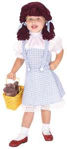 Wizard of Oz Dorthy Child Halloween Costume
