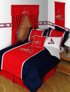 ST. LOUIS CARDINALS QUEEN Comforter, Sheets MLB Bedding