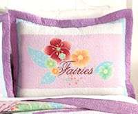 Girls Quilt Disney Fairies Tinkerbell Bedding New