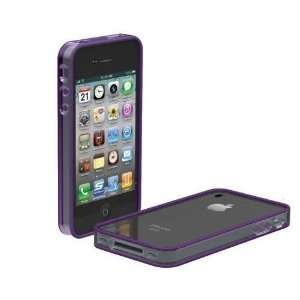 Quality Bump Polycarbonate and Rubber Edge Case for Apple iPhone 4