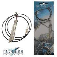 Final Fantasy VII Cloud Strife Blade Metal Necklace NIB