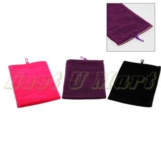 Tablet PC Notebook Ebook Reader Velvet Sleeve Pouch Case Bag