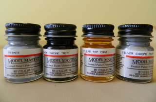 Model Master 1/2 oz (.5oz) Jar Enamel Paints Listing #4 Various Colors