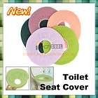 Washable Bathroom Warmer Toilet Cloth Seat Cover Pad