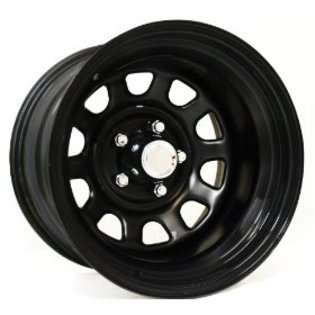 Comp Alloys Pro Comp (Series 52) Gloss Black   15 x 8 Inch Steel Wheel