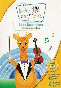 Disney   Baby Einstein: Baby Beethoven   Symphony of Fun   DVD