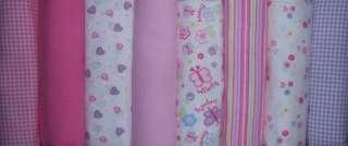 New Gerber Girls Single Flannel Receiving Blankets, Baby Shower