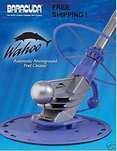 ABOVE GROUND SWIMMING POOL AUTOMATIC CLEANER WAHOO
