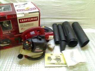 Crafsman 25cc Gas Blower GASOLINE HANDHELD BLOWER ADD |