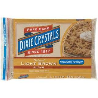 Dixie Crystals Pure Cane Brown Sugar Light, 32 Oz