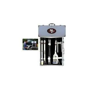 NFL 8 pc BBQ Set   San Francisco 49ers