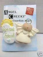 Angel Cheeks Guardian Angel Special Friend Lapel Pin