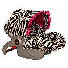 Baby Bella Maya Infant Car Seat Cover   Zoe Zebra   Baby Bella Maya