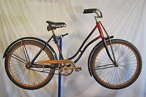 Vintage 1933 Pre War Arnold Schwinn Ladies Pullman antique bicycle